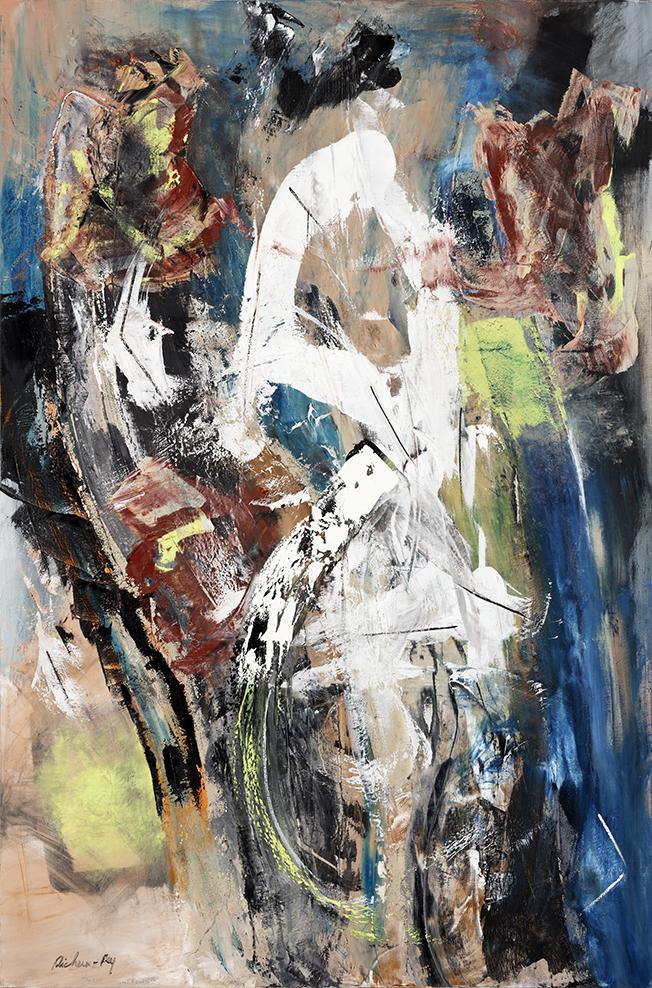 Louis XIV 2017 Huile sur toile 195x130 cm